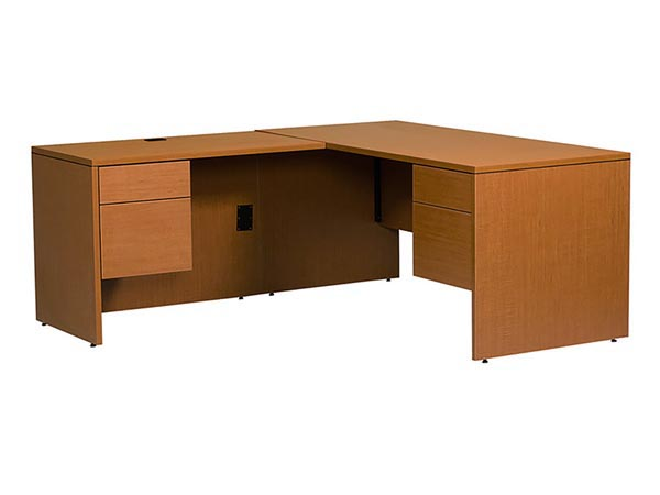 Halton Junior Executive Right or Left Hand L-Shaped Desk