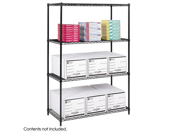 Vertical Wire Shelving