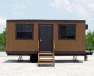 8' Wide Portable Mobile Offices