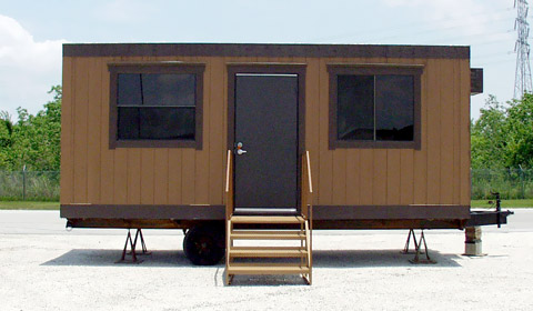 Mobile Office Trailers For Rent Or Sale In Texas - Mobile office trailer with bathroom