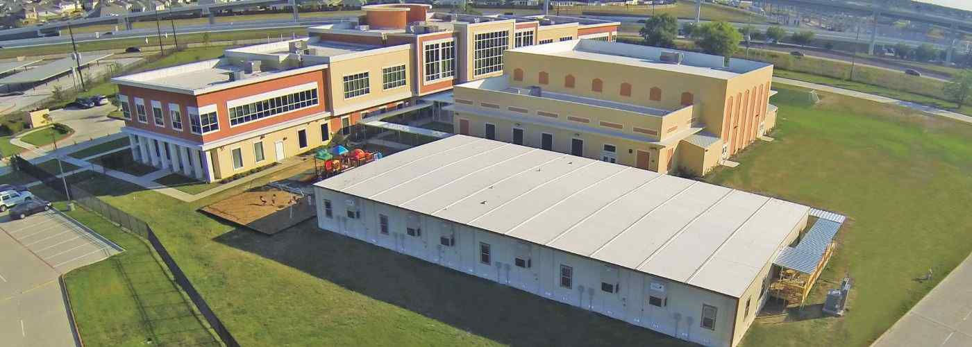 TX harmony science academy top view